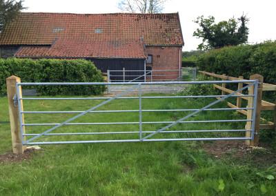 Metal Field Gates